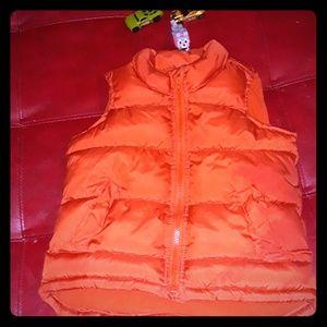 Old Navy Orange Vest